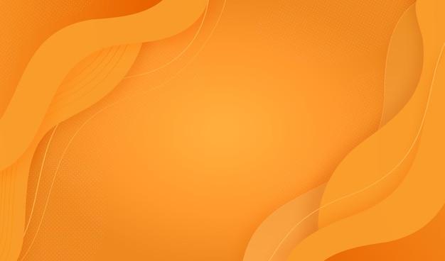 Fondo colorido abstracto con formas fluidas vector gratuito