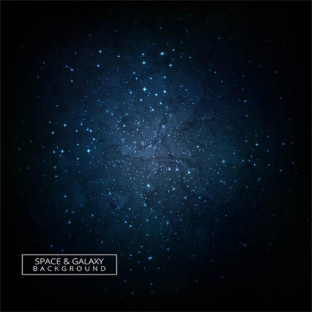 Fondo colorido del concepto del universo de la galaxia del espacio profundo vector gratuito