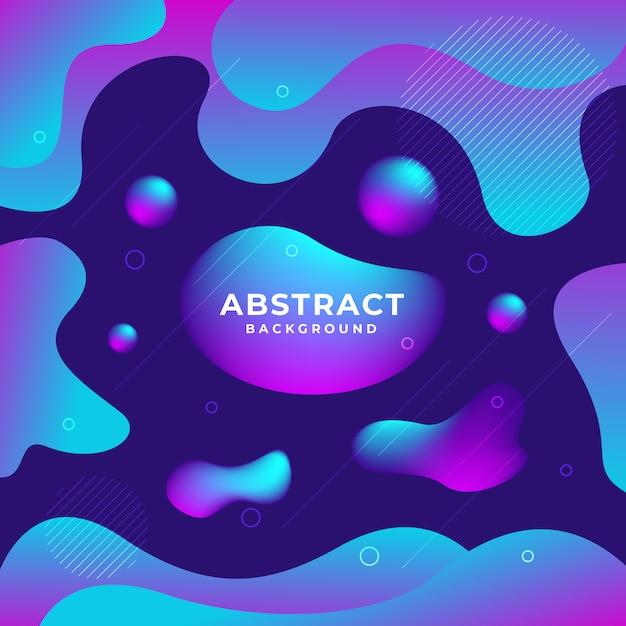 Fondo colorido geométrico abstracto Vector Premium