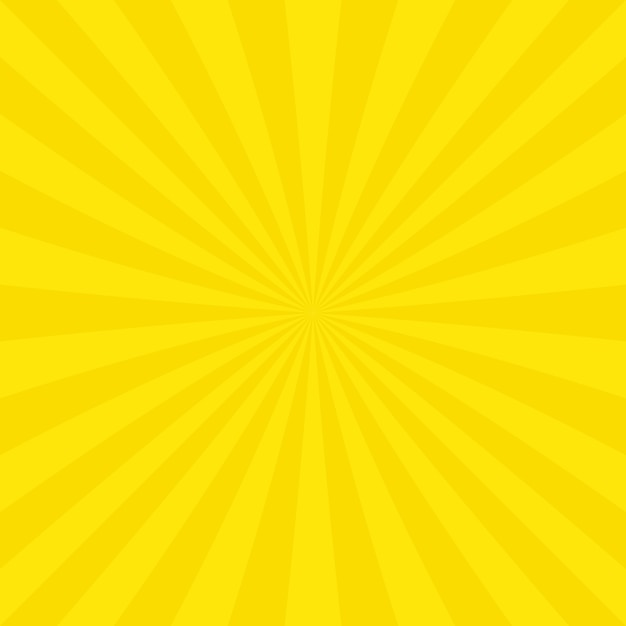 Fondo con diseño de rayos amarillos | Descargar Vectores ...