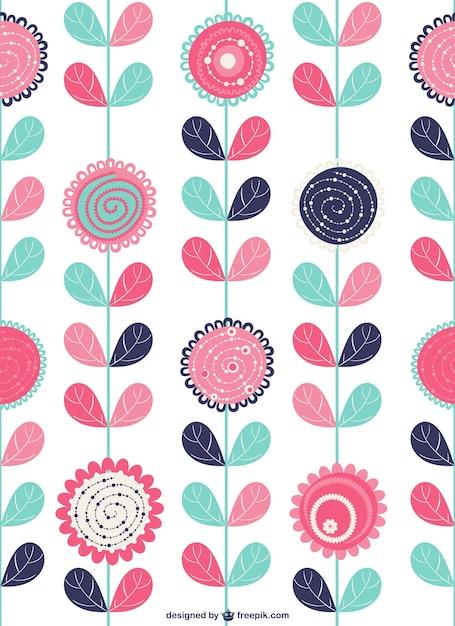 Fondo con flores decorativas descargar vectores gratis - Fotos decorativas ...