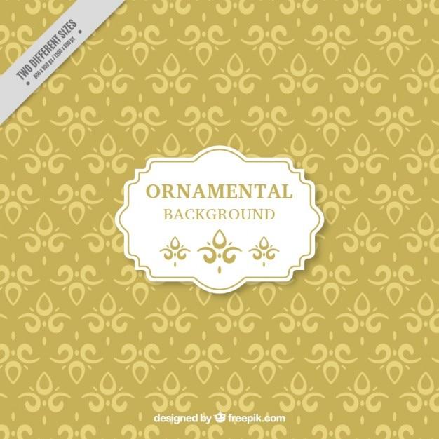 Fondo con formas ornamentales descargar vectores gratis for Formas ornamentales