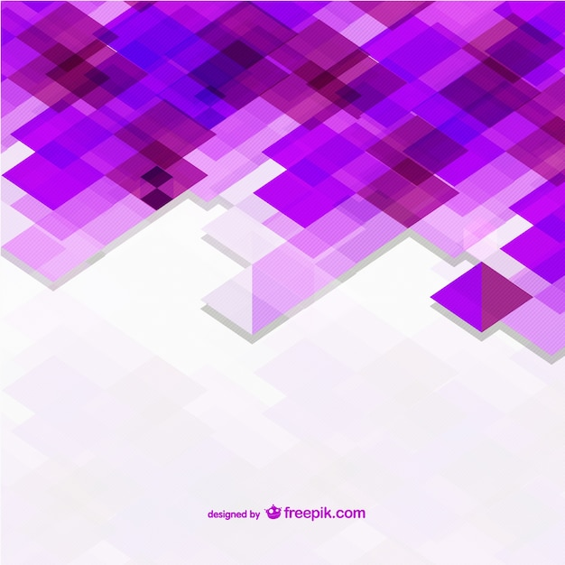 Fondo con formas violeta | Descargar Vectores gratis