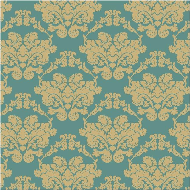 Fondo con patr n decorativo azul y dorado descargar for Papel decorativo dorado