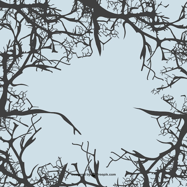 Fondo con ramas de rboles descargar vectores gratis - Ramas de arboles ...
