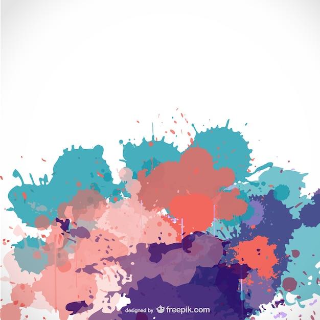 Fondo con salpicaduras de pintura para descarga gratuita descargar vectores gratis - Salpicaduras de pintura ...