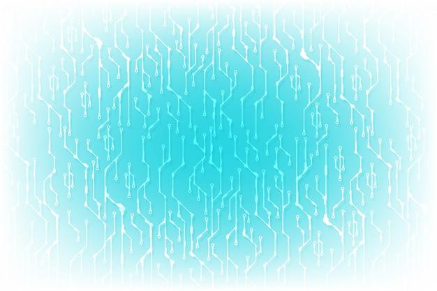 Fondo de concepto de diseño de circuito de alta tecnología. Vector Premium