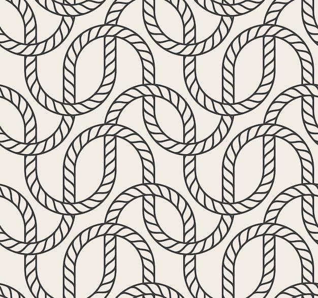Fondo de cuerda transparente abstracta de vector Vector Premium