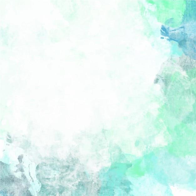 fondo de acuarela verde
