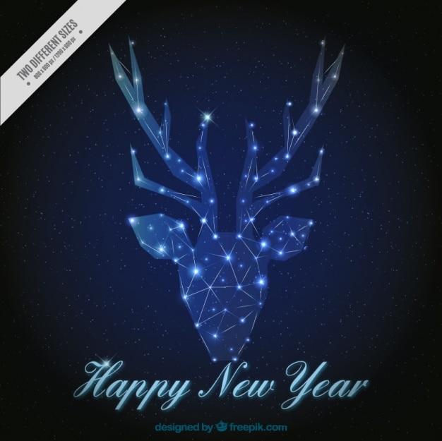Renos de navidad con luces de navidad al aire libre renos - Renos de navidad con luces ...