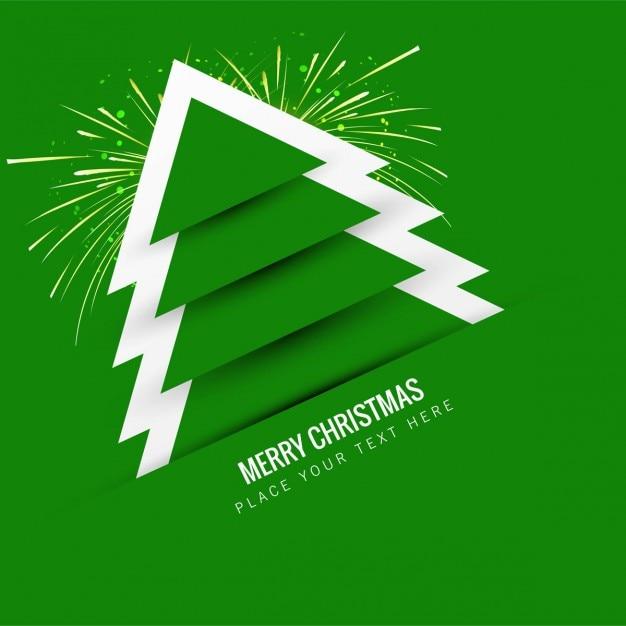 Fondo de rbol de navidad verde descargar vectores gratis for Arbol navidad verde