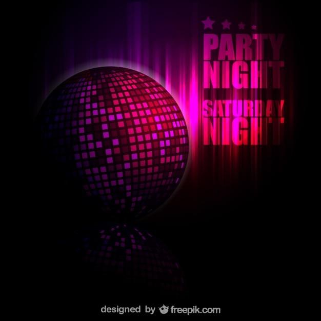 Fondo de bola de discoteca gratis descargar vectores gratis - Bola de discoteca de colores ...