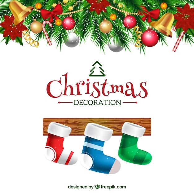 Fondo de calcetines de navidad decorativos descargar - Decorativos de navidad ...