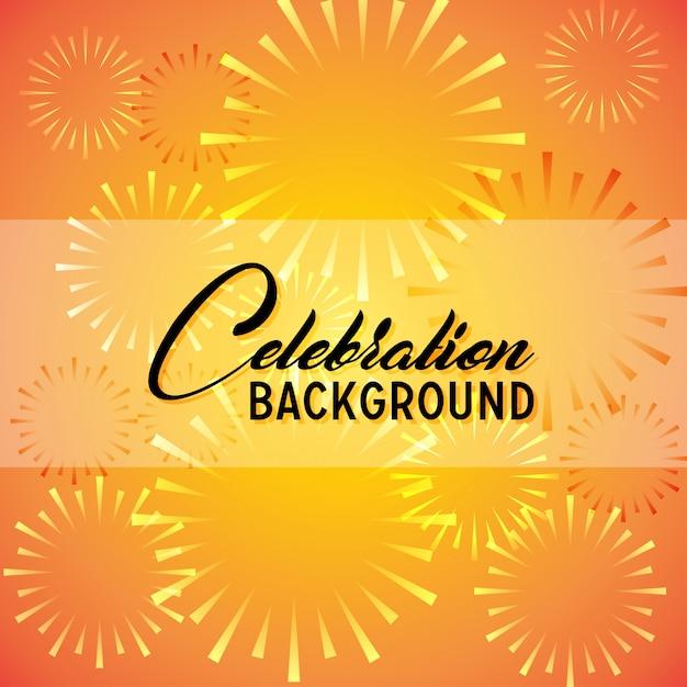 Fondo de celebración Vector Gratis