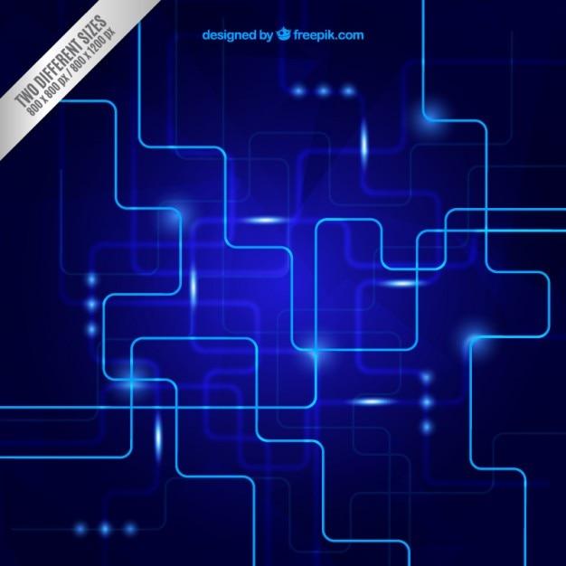 Circuito Hd : Fondo de circuito azul descargar vectores gratis