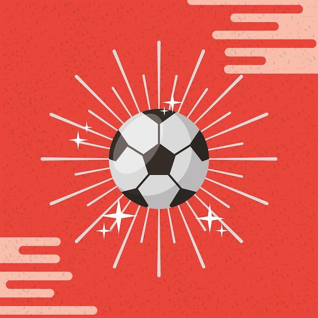 Fondo de color de sunburst fútbol deporte de pelota | Descargar ...