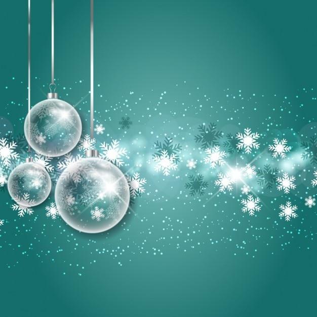 Fondo de copos de nieve con burbujas navide as descargar for Figuras de nieve navidenas
