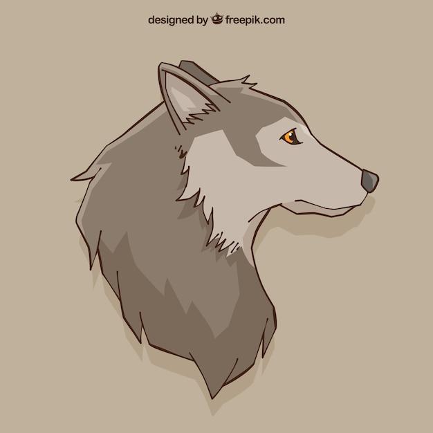 fondo de dibujo de lobo descargar vectores gratis wolf vector ai wolf vector free