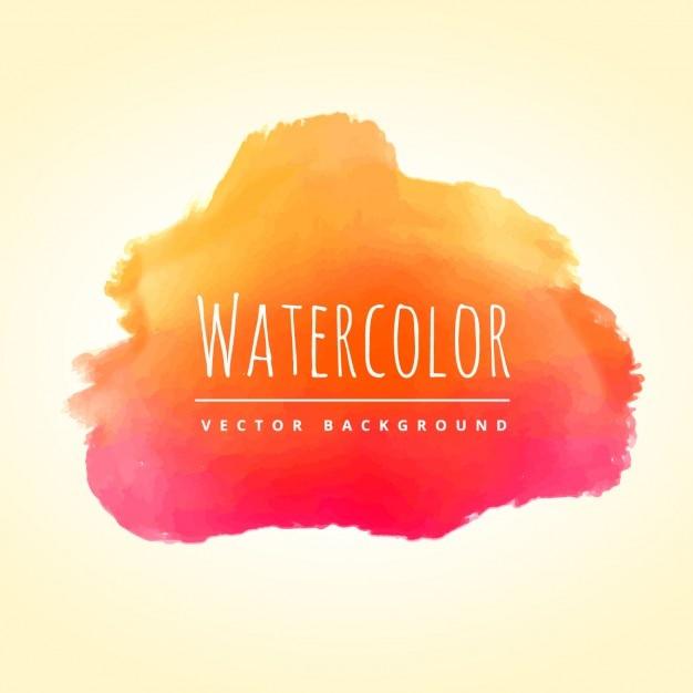 Pics photos watercolor splash background - Fondo De Mancha De Acuarela Naranja Descargar Vectores