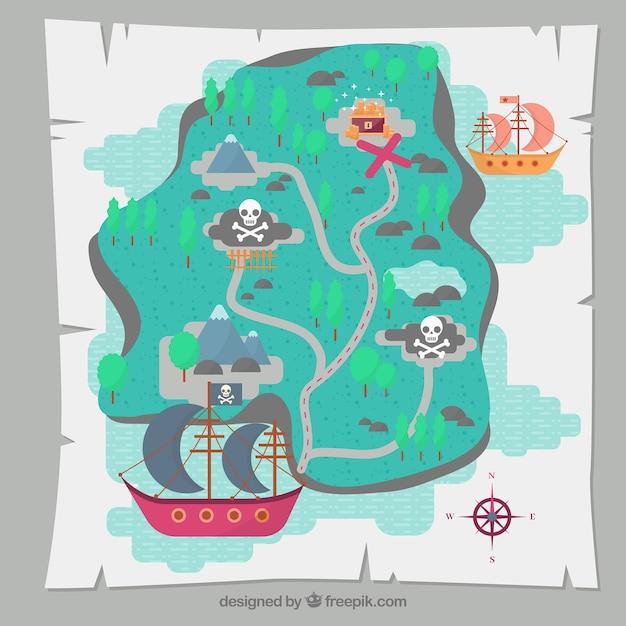 Hacen el primer mapa completo del lugar del naufragio