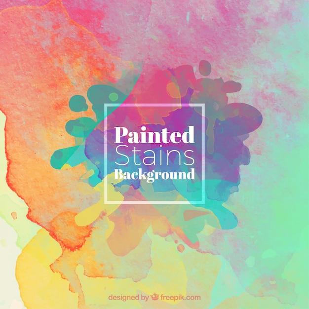 Fondo de mezcla de colores | Descargar Vectores gratis