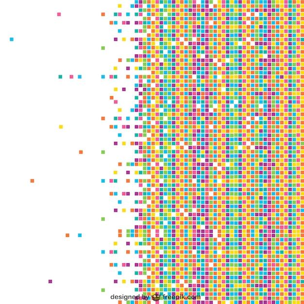 Fondo de mosaico de colores descargar vectores gratis - Mosaicos de colores ...