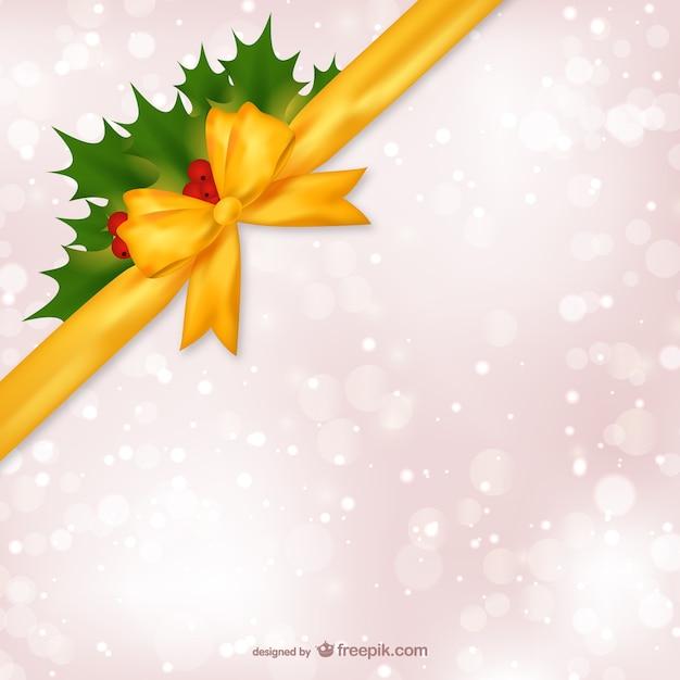 Fondo de navidad con cinta amarilla descargar vectores - Cinta de navidad ...