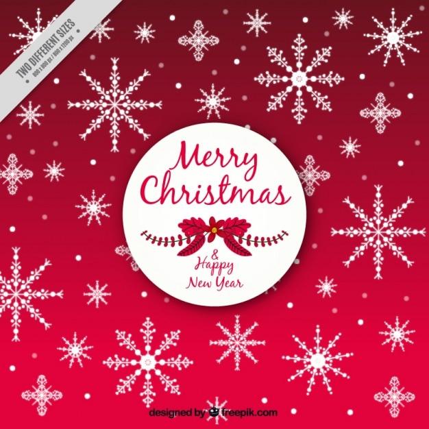 Fondo de navidad con decorativos copos de nieve - Decorativos de navidad ...