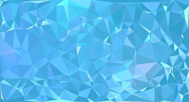 Fondo De Pantalla Abstracto Bolas Azules: Fondo De Pantalla Abstracto Polígono Azul Cielo