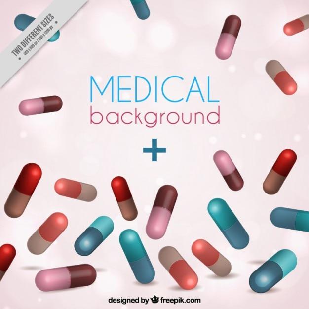Fondo de pastillas | Descargar Vectores gratis