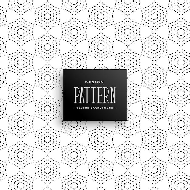 Fondo de patrón abstracto con puntos elegantes | Descargar Vectores ...
