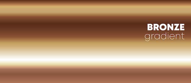 Fondo degradado de bronce Vector Premium