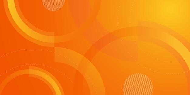 Fondo degradado geométrico abstracto Vector Premium