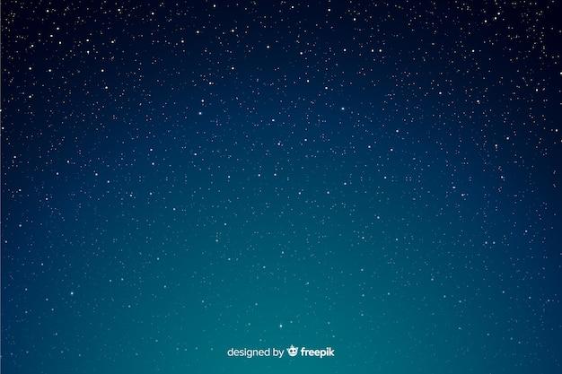 Fondo degradado de noche estrellada vector gratuito