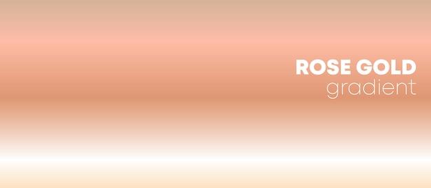 Fondo degradado de oro rosa Vector Premium
