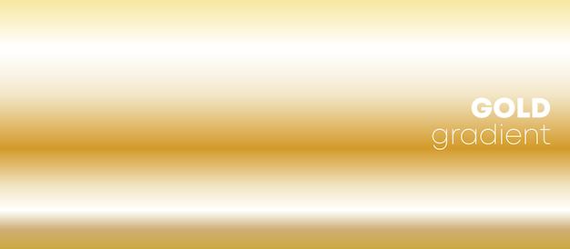 Fondo degradado de oro Vector Premium