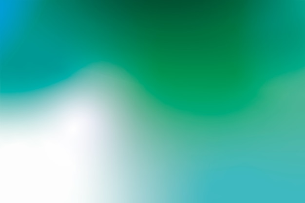 Fondo degradado en tonos verdes vector gratuito