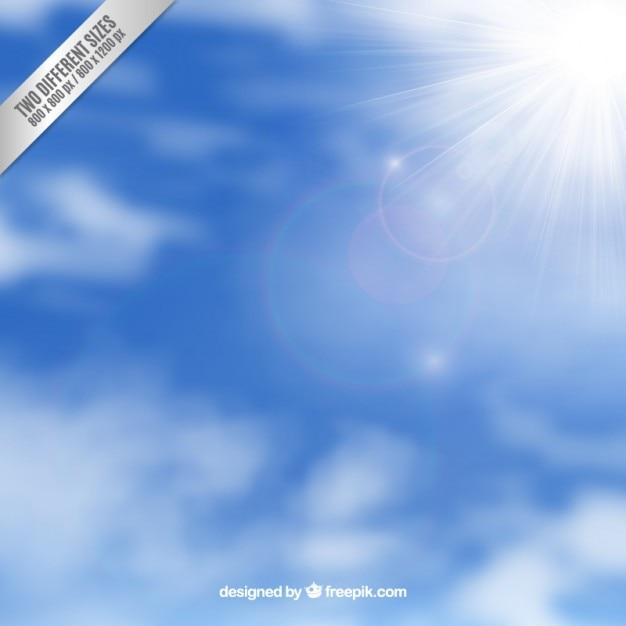 Fondo del cielo con la luz del sol descargar vectores gratis for Fondo del sol