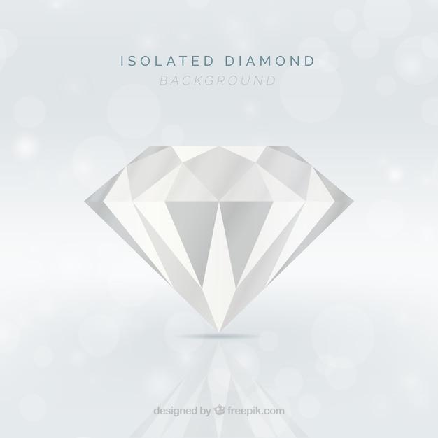 Fondo de diamante brillante vector gratuito