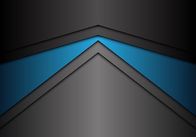 Fondo De Dirección De Flecha Gris Azul Metálico