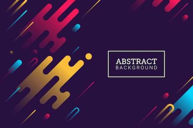 Fondo de diseño abstracto Vector Premium