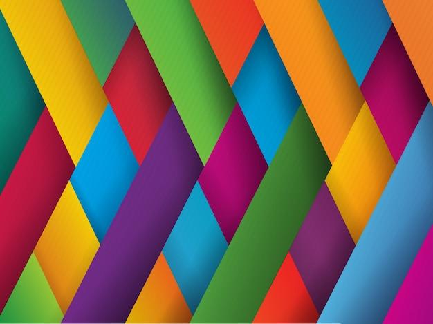 Fondo con diseño multicolor vector gratuito
