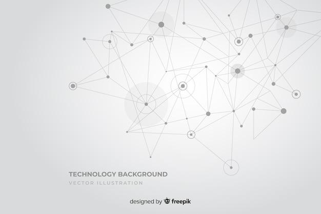 Fondo de ecnología Vector Premium