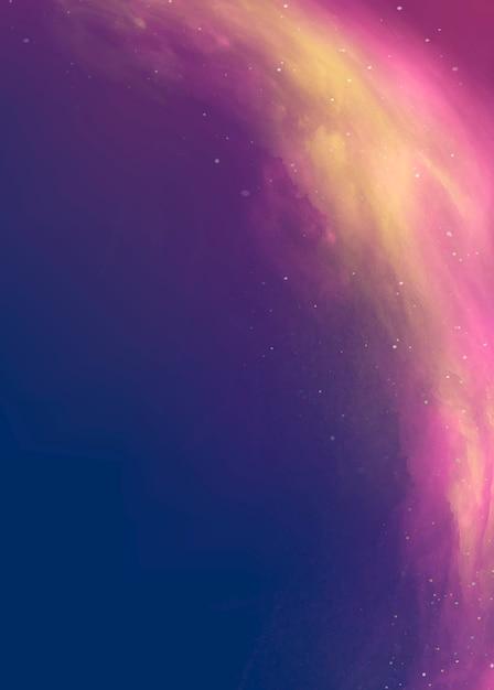 Fondo del espacio exterior vector gratuito