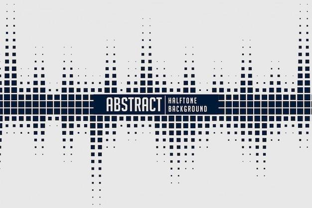 Fondo de espectro de sonido de semitono abstracto vector gratuito
