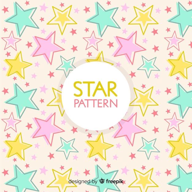 Fondo de estrellas vector gratuito