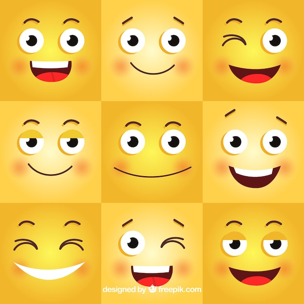 Resultado de imagen para emoticones de felicidad