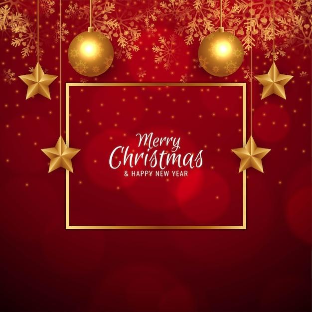 Fondo feliz navidad vector gratuito