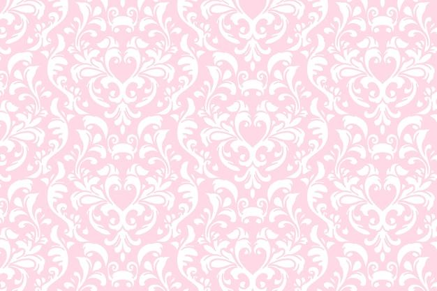 Fondo floral ornamental abstracto vector gratuito