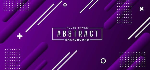 Fondo fluido abstracto moderno Vector Premium